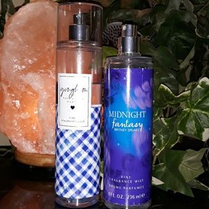 Bath & Body Works Gingham / Britney Spears sprays